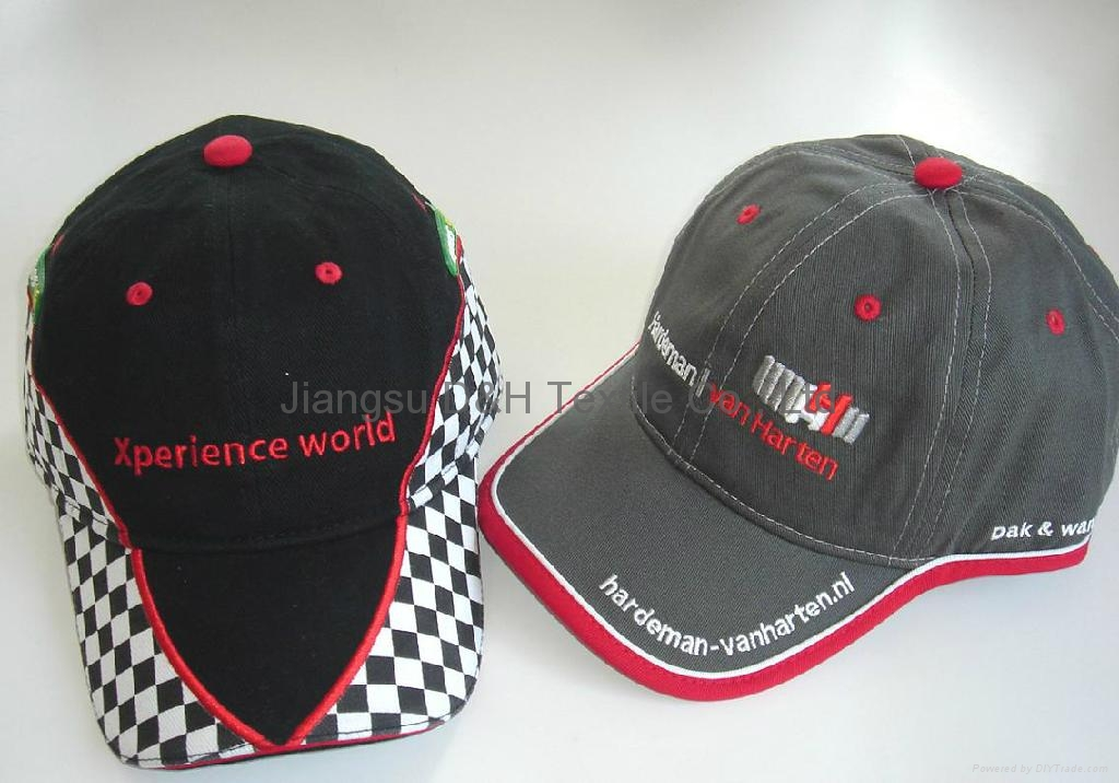 Customized cotton Gorros Jockey caps  1