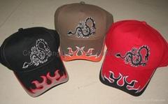 Flare cap/cotton cap