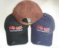 Customized cotton Gorros Jockey caps  2