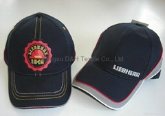 Piping baseball cap