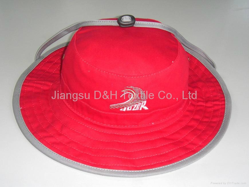Red Large big Brim Fashion Sun Hats 2