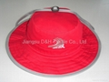 Red Large big Brim Fashion Sun Hat
