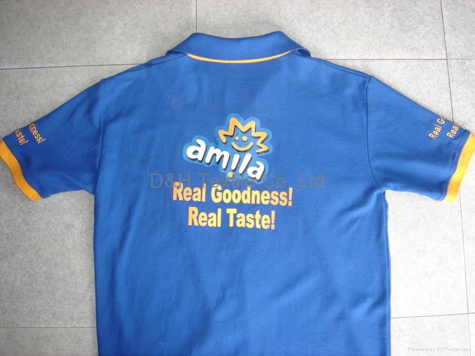High quality cotton jersey Polo-shirt/Tshirt 5