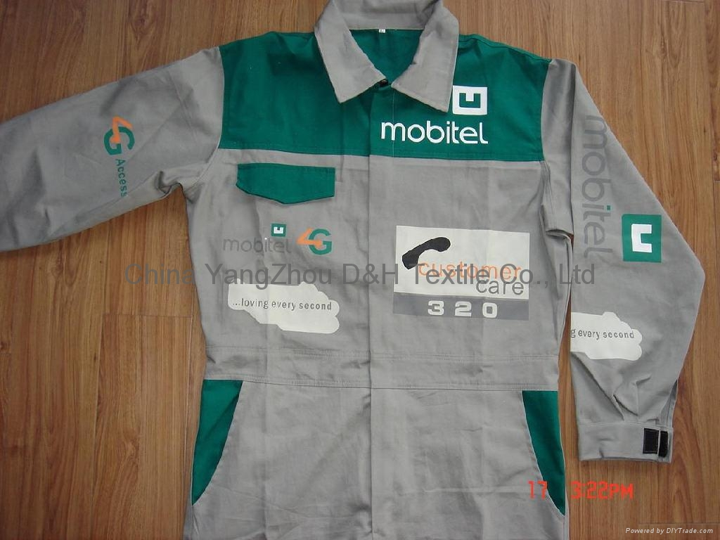 Cotton twill Coverall  Jacket Worth wear Cloth 1