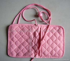 Quilted ID Holder