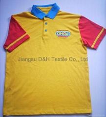 2017 Competitive Fine Cotton Pique Mesh T-shirt Polo Shirt