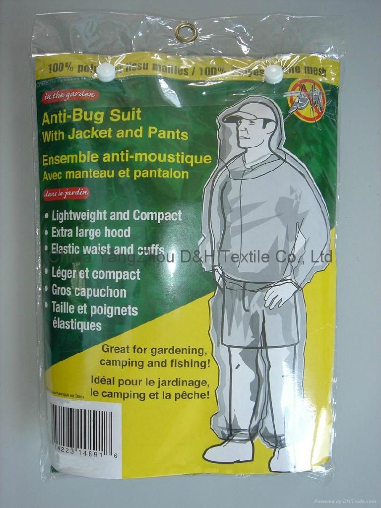 Anti-Bug Suit With Jacket and Pants 1