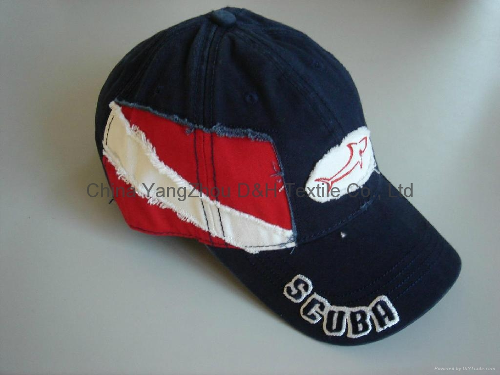 PRO-Curved Cotton Baseball Cap /Sports cap 1