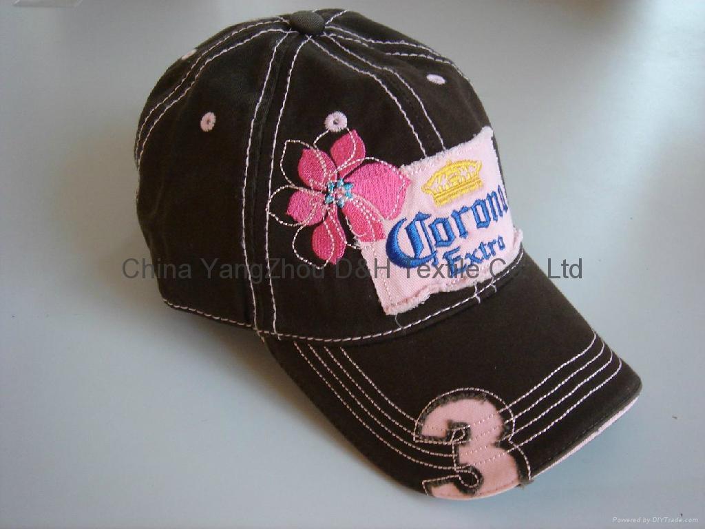 PRO-Curved Cotton Baseball Cap /Sports cap 2