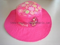 Large Brim Fine Cotton Fashional Sun hat