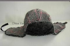 Warm Earflap Hats /Winter Hat/Faux Fur Trapper Hat