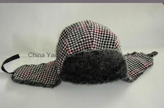 Warm Earflap Winter Faux Fur Trapper Hat