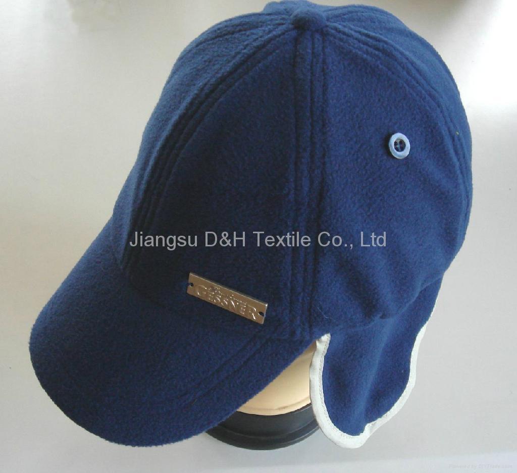 Camouflage polar fleece Winter Cloak Warm Earflap Hats  3