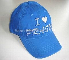 Customized cotton Baseball cap/Sports caps