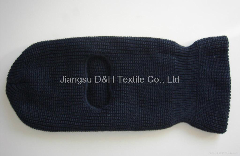 Fine Quality Acrylic knitted balaclava 3