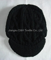 Fashion handwork knitted Reversible Knitted Hat 5