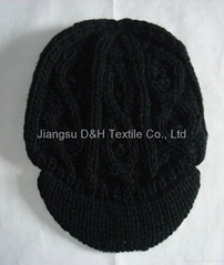 Fashion cap/Reversible Knitted Hat