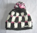 Fashion Ladies' Knitted Hat with Pompom