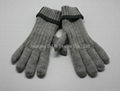 Acrylic knitted winter Beer glove