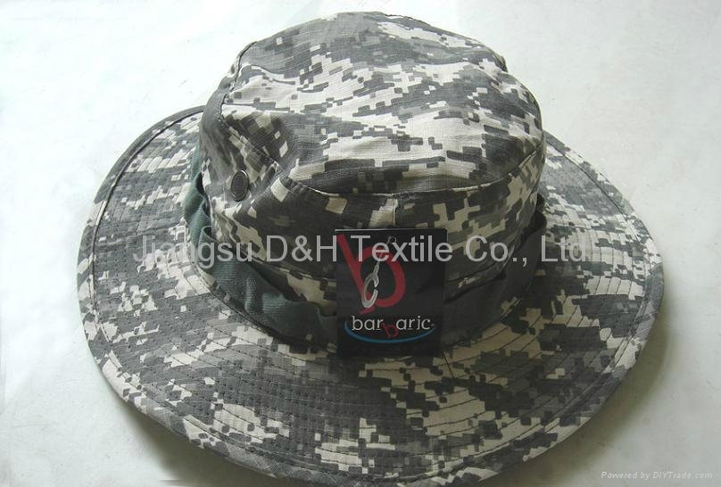 Camouflage Fashion  Bucket hats 2