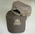 Cotton plaid painter cap