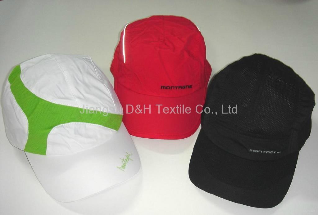 Promotion Cap/Micro fiber with Mesh Cap