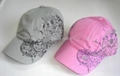 Regular cotton Baseball Children Jockey Gorros caps