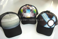 Polyester and Mesh Trucker Caps