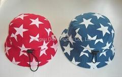 Floral Micro Fiber Sun hat