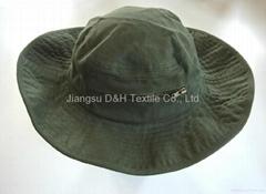 Breen Wide Braid Cotton Bucket Hat