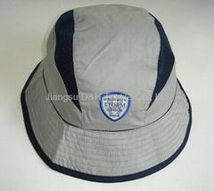 Micro fiber with mesh sun hat