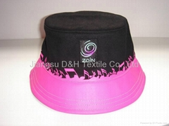 Customized  Cotton Bucket Gorros Jockey Sun hat