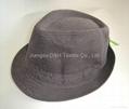 Fedora Hats with Slide Buckle