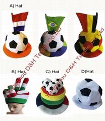 Football Fans hat/Soccer