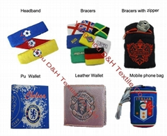 Football Fans wristband/Soccer Accessories Wallet