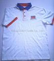 Cotton Pique Mesh Polo shirt