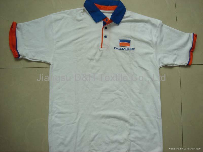 Cotton Pique Mesh Polo shirt 3