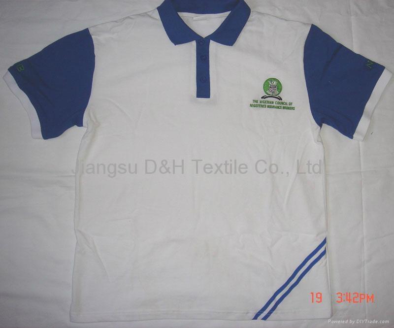 High quality cotton Jersey Polo-shirt/Tshirt 3