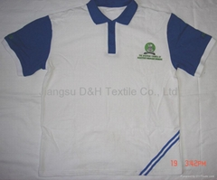 High quality cotton jersey Polo-shirt/Tshirt
