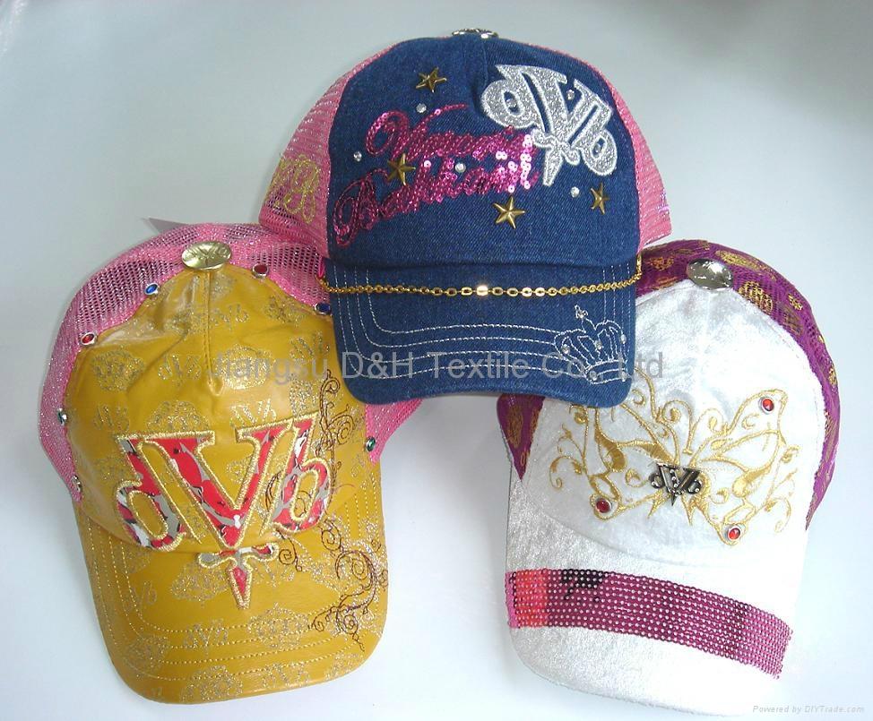 Fashion mesh Caps 1