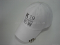Cotton constructured Baseball america Cap with piping