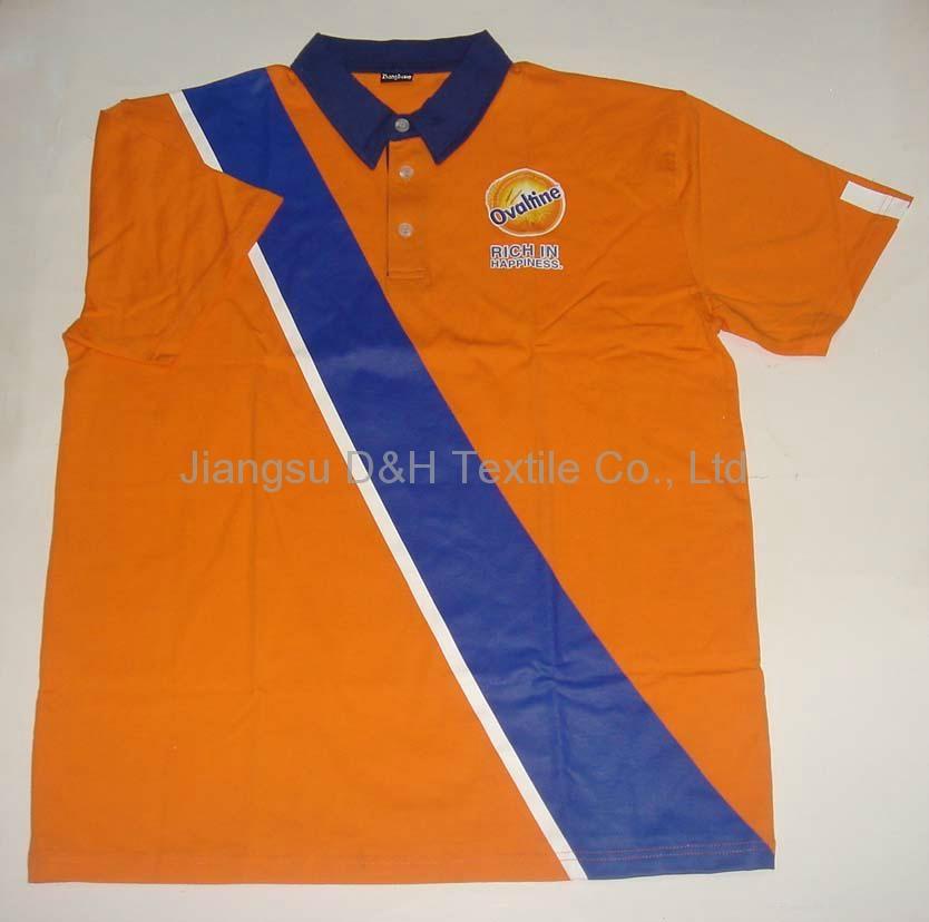 High Quality Cotton Pique Mesh Polo Shirt/Tshirt work cloth 2