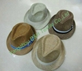 Fedora Hat with Slide Buckle