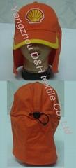 Hooded Cape/Earflap cap/Legionnaire Cap