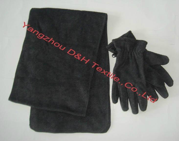 Polar fleece cap/Anti-pilling Polar Fleece Set/Warm Set 3