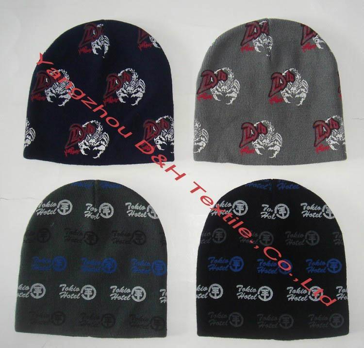 Custom 100% Cotton Knitted Hats/ Crochet Hats   3