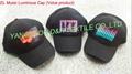 EL Music Luminous Cap/DJ Man EL Cap/EL Party Cap/EL Voice Cap