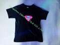 Hot New Design EL voice Tshirt/Flashing Voice T-shirt