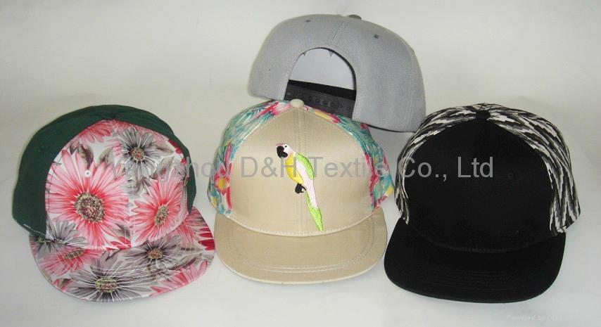 Wool/Acrylic/Cotton New Snapback Era Cap