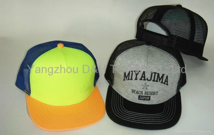 Fashion Design Custom Flat Brim Snapback Cap 2